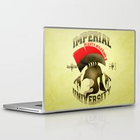skyrim Laptop & iPad Skins featuring Imperial University(Skyrim) by Chubbybuddhist