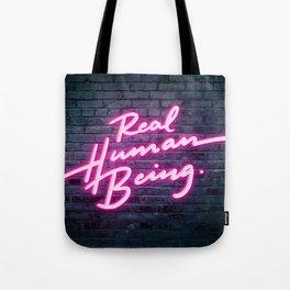 Real Human Being Tote Bag