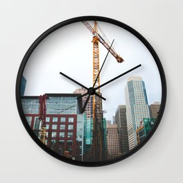 To fix is to create.  Wall Clock