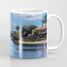 Houses On The Nerang River Coffee Mug