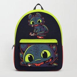 Pls Throw?? // Cute Dragon, Viking, Kawaii Backpack