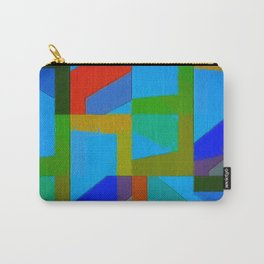 Colorful Truth. Sky Carry-All Pouch