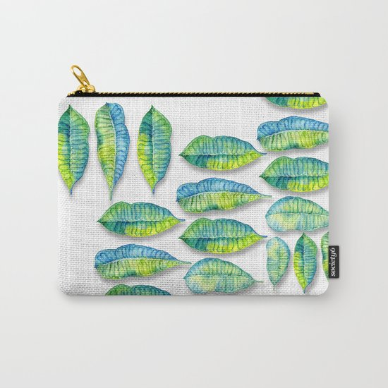 tropic leaf  Carry-All Pouch