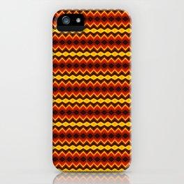 Golden Strands - Abstract Art iPhone Case