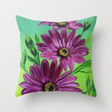 Purple magic  Throw Pillow