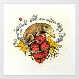 Hadrocodium Art Print