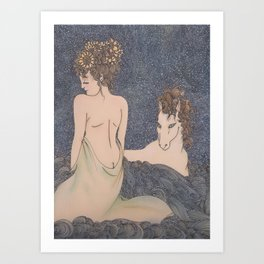 COVENANT OF STARS Art Print