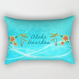 Aloha Beaches Rectangular Pillow