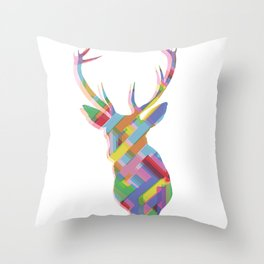 Dear, deer Throw Pillow