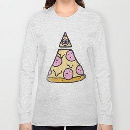 ILLUMINATI PIZZA Long Sleeve T-shirt