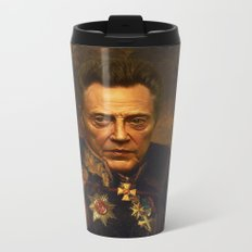 Christopher Walken - replaceface Metal Travel Mug