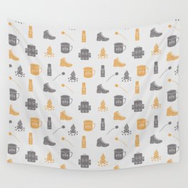 Camping (Pollen) Wall Tapestry