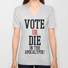 Vote Apocalypse Unisex V-Neck