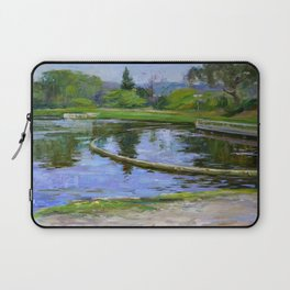 Morning park Laptop Sleeve