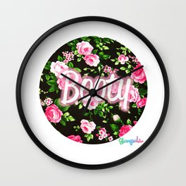 BOOTY (FUL) FLOWERS FOR YOUUUUU Wall Clock