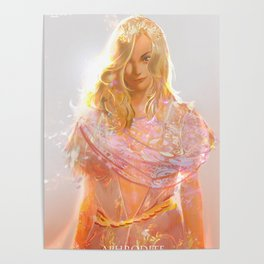 """Aphrodite (""""Charm of of the Ancient Enchantress"""" Series) Poster"""