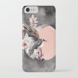 Visions Of Crystal Eyed Ravens iPhone Case