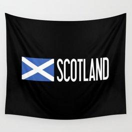 Scotland: Scottish Flag & Scotland Wall Tapestry