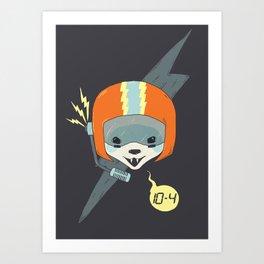 Callsign: Bandit Art Print
