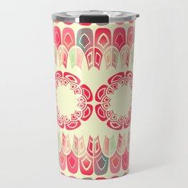 Ethnic geometric pattern Travel Mug