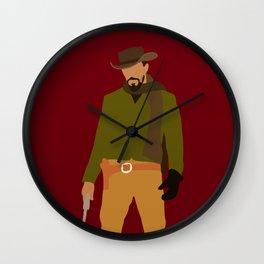 Django Unchained movie Wall Clock