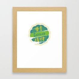 Farmer Number One Framed Art Print