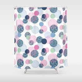 Pattern Clash Shower Curtain