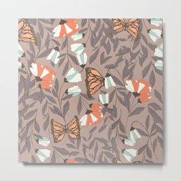 Monarch garden 004 Metal Print