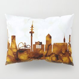 Duisburg Germany Skyline Pillow Sham