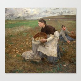 October by Jules Bastien-LePage Canvas Print
