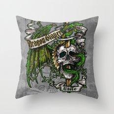 Dragon Slayer Elite Throw Pillow