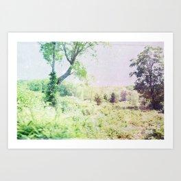 Woodland Realms No.3 Art Print