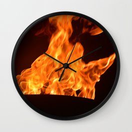 Flame on pt2 Wall Clock