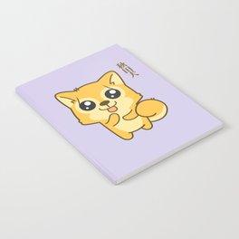 Kawaii Hachikō, the legendary dog Notebook