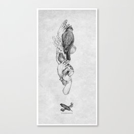 Birdhands Canvas Print