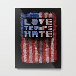 American Pride design- Vertical Metal Print