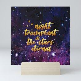 Night Eternal Mini Art Print