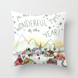 Most Wonderful Throw Pillow