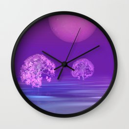 peaceful time -8- Wall Clock