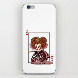 Funny Red Queen iPhone Skin