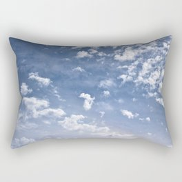 Scattered Clouds Rectangular Pillow