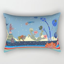 At night Rectangular Pillow