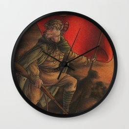 Soldier on Wall Clock