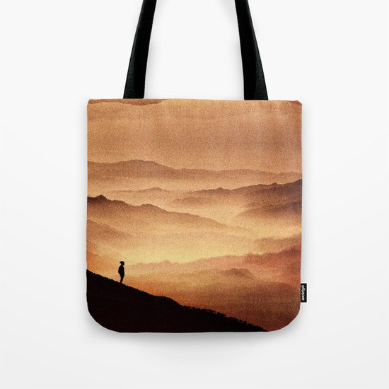 Red Noise Isolation Series Tote Bag