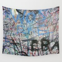 urban Wall Tapestries featuring Urban by Sophie Broyd