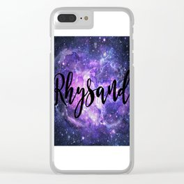Rhysand Clear iPhone Case