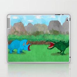 Dinosaurs! feat. Tyrannosaurus Rex and Triceratops Laptop & iPad Skin