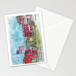 Lee & Union at Mississippi State University Stationery Cards