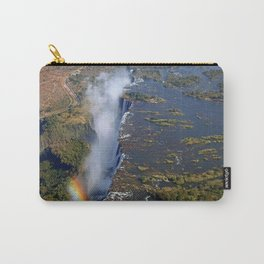 Flight over the Victoria Falls, Zambia Carry-All Pouch