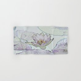 Waterlily Abstract Hand & Bath Towel